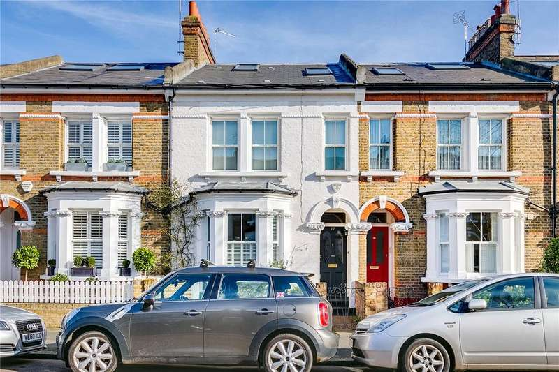 4 Bedrooms Terraced House for sale in Cleveland Gardens, Barnes, London