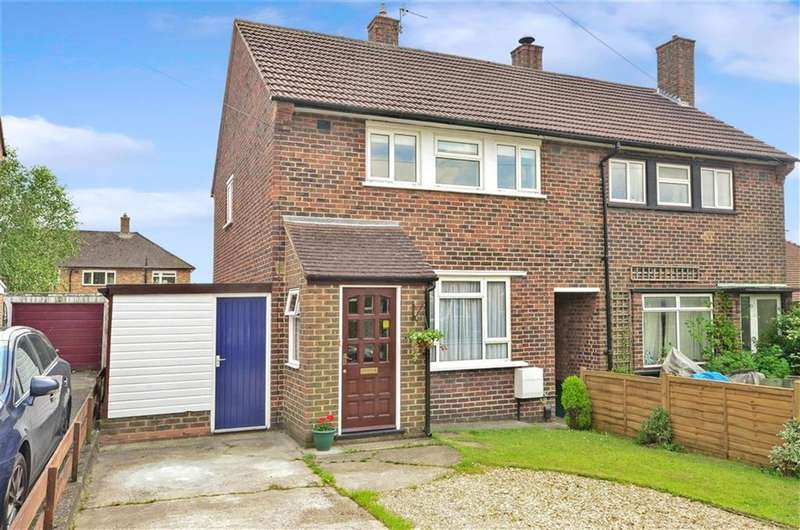2 Bedrooms Semi Detached House for sale in Dundrey Crescent, Merstham, Surrey, RH1 3NY