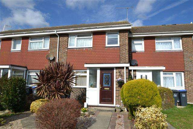 3 Bedrooms Terraced House for sale in Edmonton Road, Durrington, Worthing, West Sussex, BN13 2TB