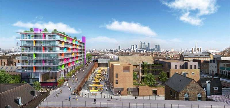3 Bedrooms Semi Detached House for sale in The Deptford Project - Townhouses, 123 Deptford High Street, London, SE8