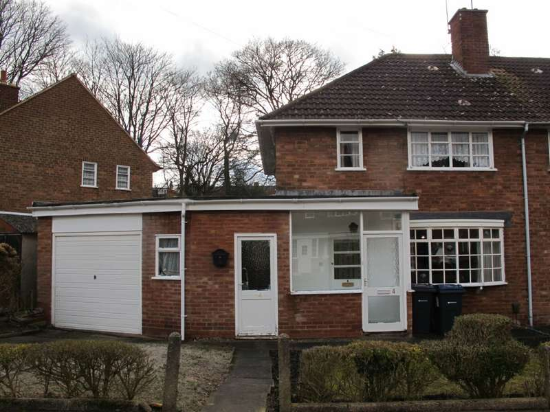 2 Bedrooms End Of Terrace House for sale in Binton Croft, Birmingham