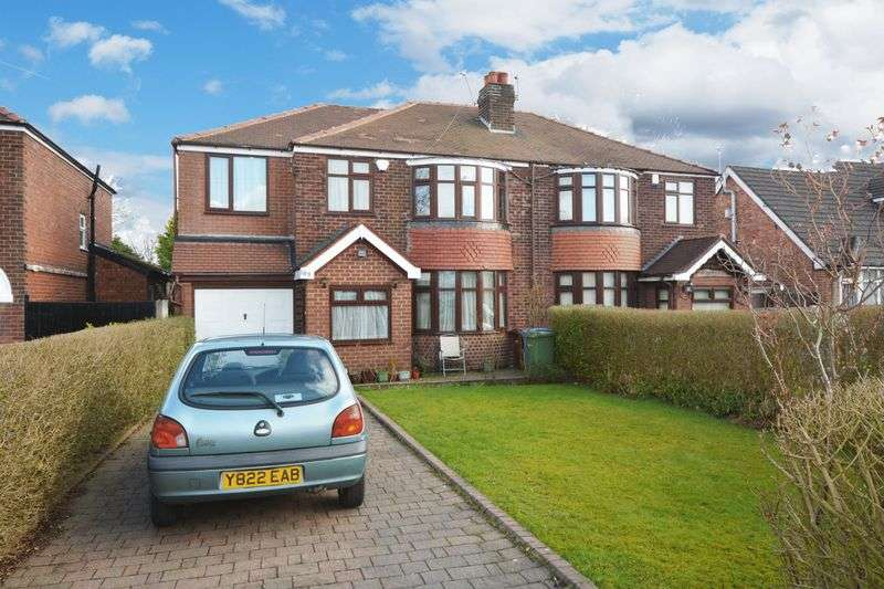 4 Bedrooms Semi Detached House for sale in Wilmslow Road, Heald Green, Cheadle