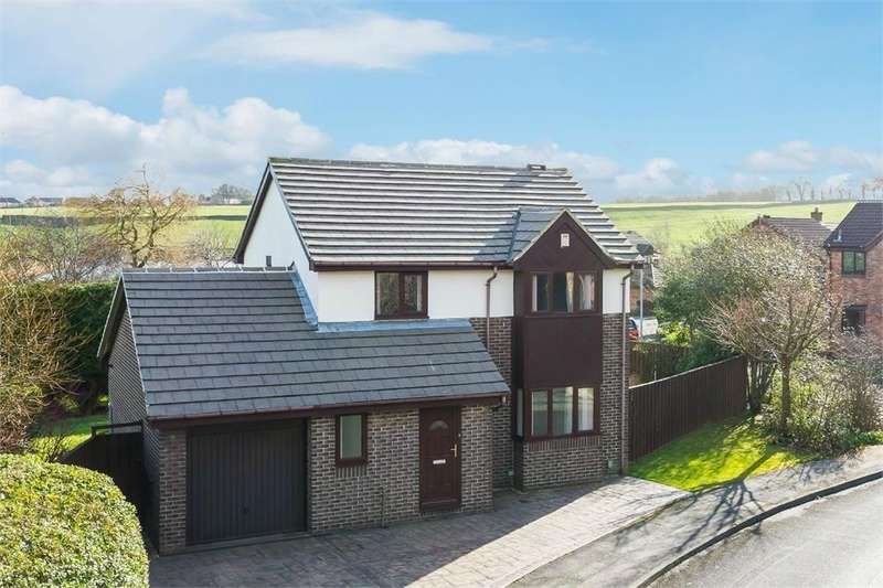 3 Bedrooms Detached House for sale in Cheviot Gate, Low Moor, West Yorkshire