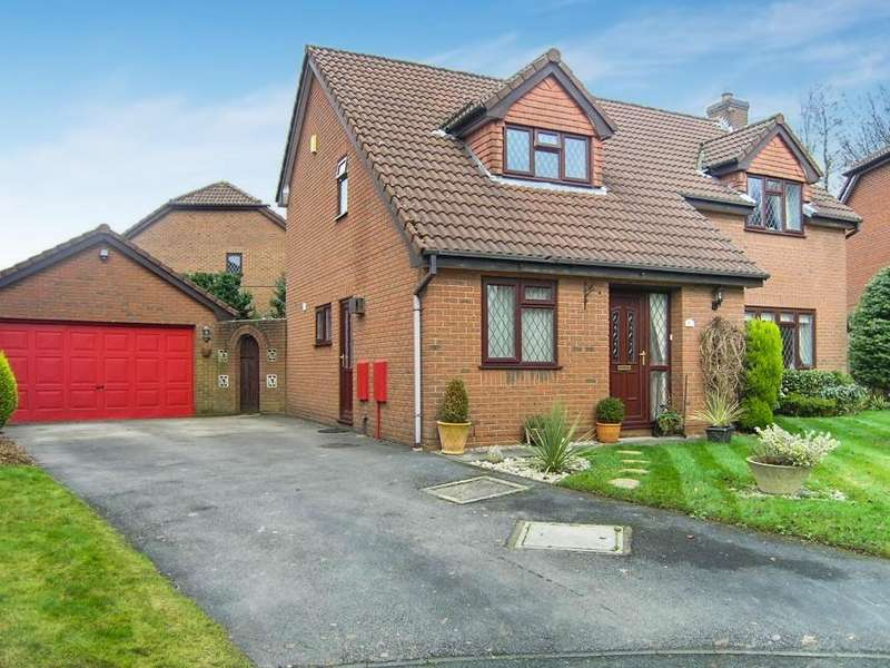 4 Bedrooms Detached House for sale in Edward Gardens, Woolston, Warrington