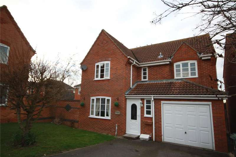 4 Bedrooms Detached House for sale in Finch Drive, Sleaford, Lincolnshire, NG34