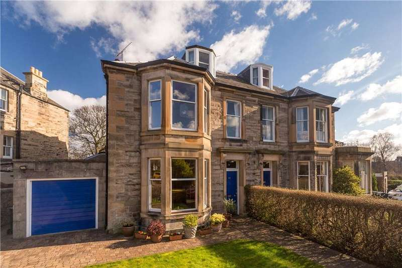 5 Bedrooms Semi Detached House for sale in Queen's Crescent, Edinburgh, Midlothian, EH9