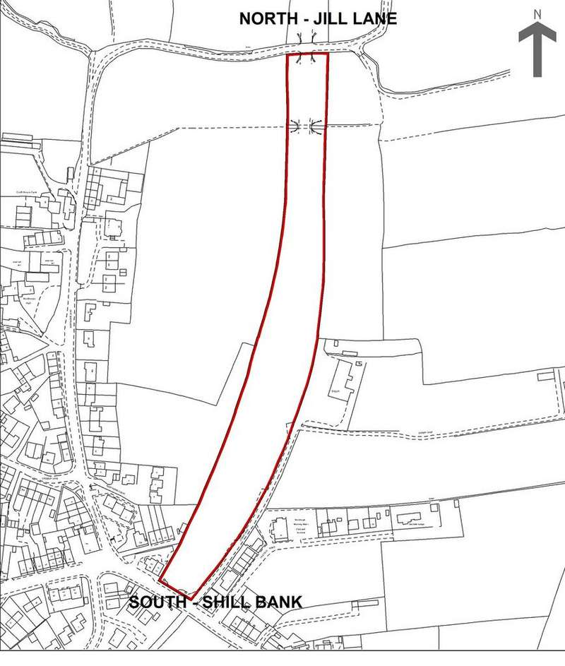 Land Commercial for sale in Land Between Jill Lane Shill Bank, Mirfield, West Yorkshire, WF14