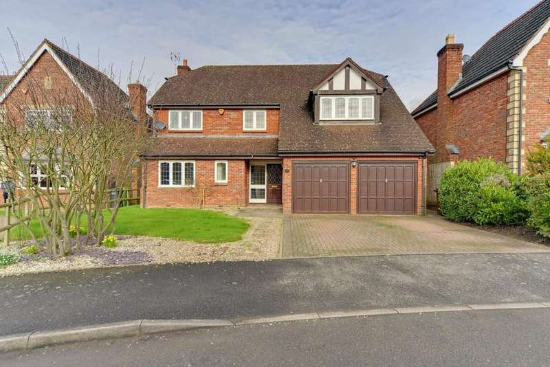 5 Bedrooms Detached House for sale in Saracen Drive, Balsall Common