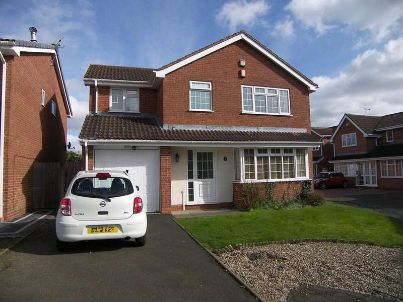 4 Bedrooms Detached House for sale in Appleby Grove, Monkspath