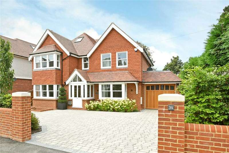 5 Bedrooms Detached House for sale in Furzefield Road, Reigate, Surrey, RH2