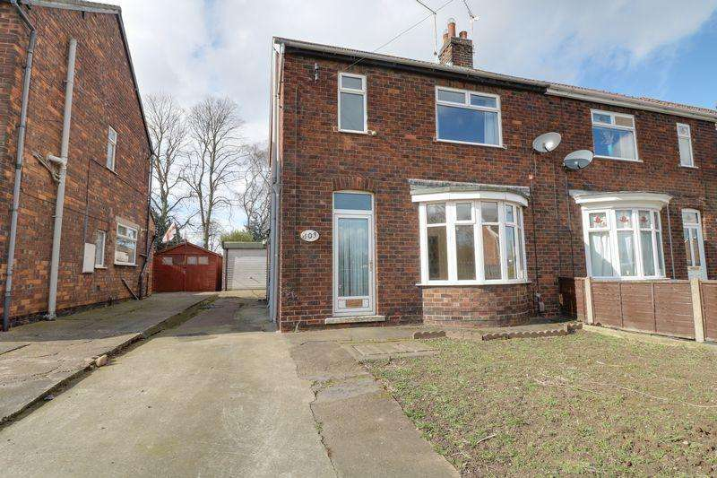 3 Bedrooms Semi Detached House for sale in Cemetery Road, Scunthorpe