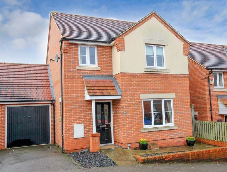 3 Bedrooms Detached House for sale in Maple Close, Pulloxhill, Bedford, MK45