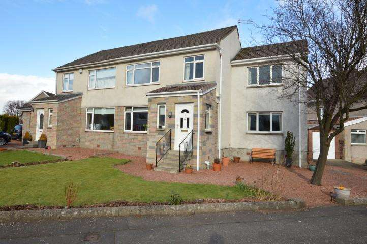 4 Bedrooms Semi Detached House for sale in 4 Brandon Drive, Bearsden, G61 3LN
