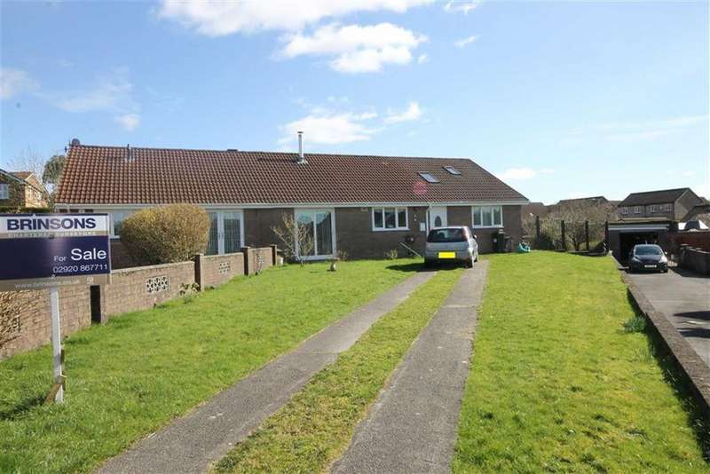 4 Bedrooms Semi Detached Bungalow for sale in Ty Llwyd Parc, Quakers Yard, CF46