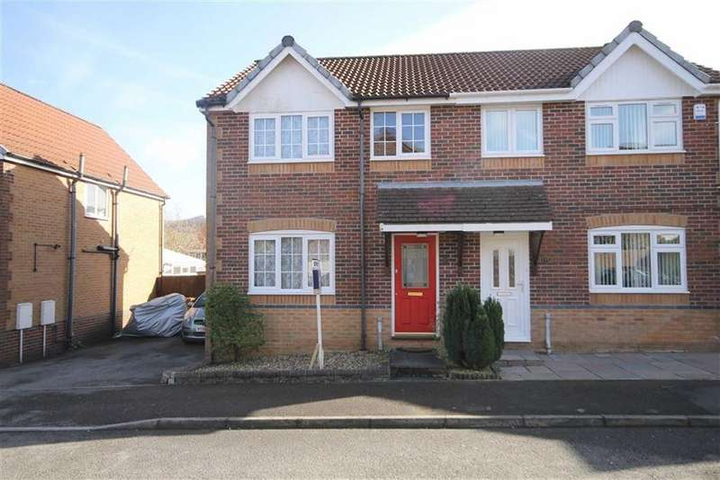 3 Bedrooms Semi Detached House for sale in Heol Tyddyn, Caerphilly, CF83