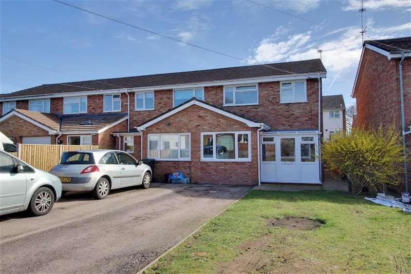3 Bedrooms End Of Terrace House for sale in West View, Newent, Gloucestershire