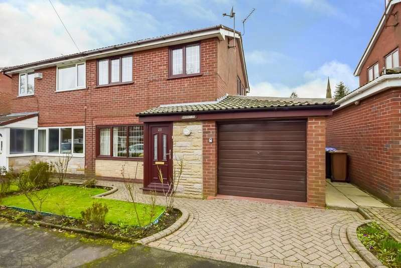 3 Bedrooms Semi Detached House for sale in Crossfield Close, Wardle