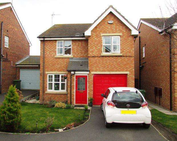 3 Bedrooms Detached House for sale in SOUTER DRIVE, EAST SHORE VILLAGE, SEAHAM DISTRICT