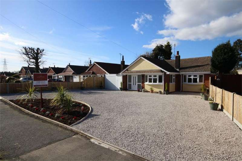 2 Bedrooms Detached Bungalow for sale in Golf Drive, Whitestone, NUNEATON, Warwickshire