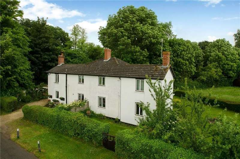6 Bedrooms Semi Detached House for sale in Curry Cottages, Red Rice, Andover, Hampshire, SP11