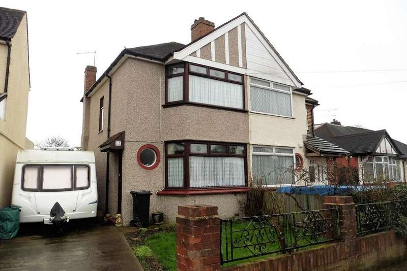 2 Bedrooms Semi Detached House for sale in Guildford Avenue, Feltham, TW13