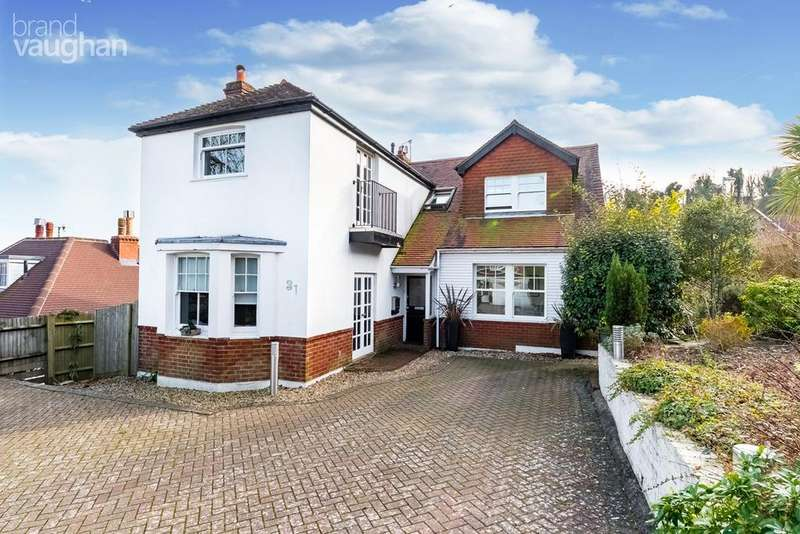 4 Bedrooms Detached House for sale in Tongdean Lane, Withdean, Brighton, BN1