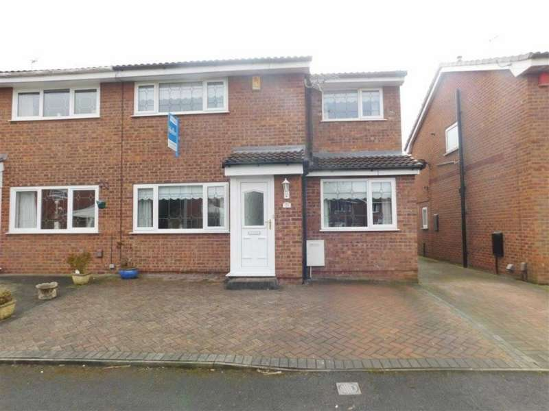 3 Bedrooms Property for sale in Hebden Avenue, Bredbury, Stockport