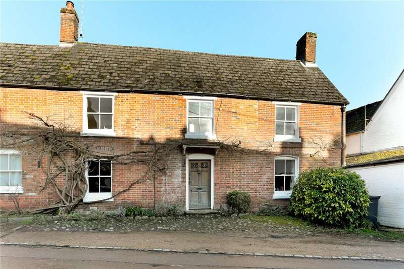 4 Bedrooms Semi Detached House for sale in High Street, Urchfont, Devizes, Wiltshire