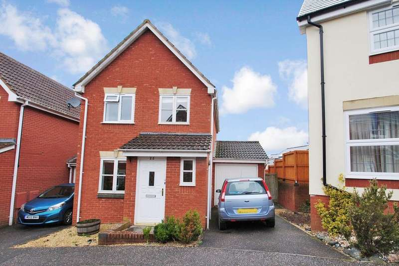 3 Bedrooms Detached House for sale in Stutts End, Cotford St. Luke