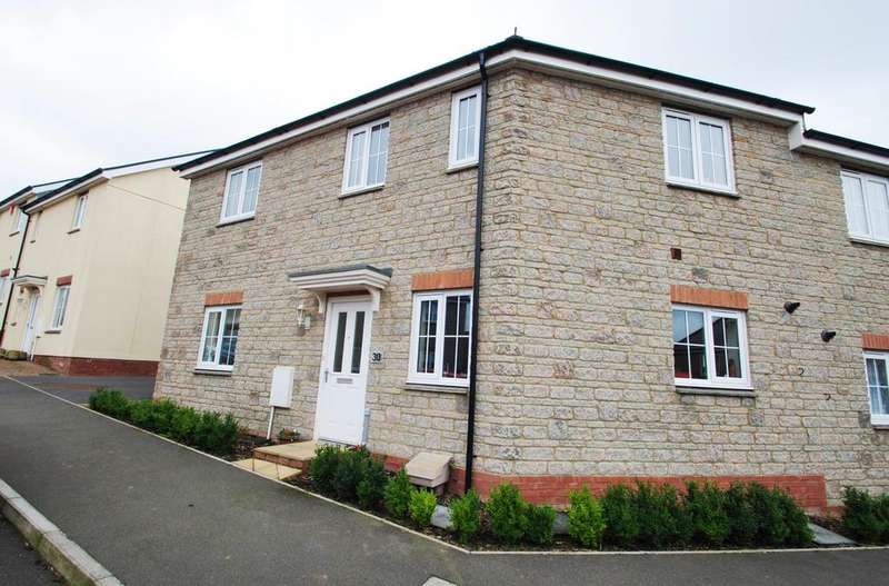 3 Bedrooms Semi Detached House for sale in Shutewater Orchard, Bishops Hull