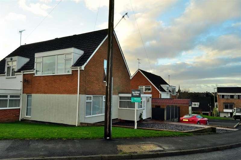 4 Bedrooms Semi Detached House for sale in Honeybourne Road, Halesowen