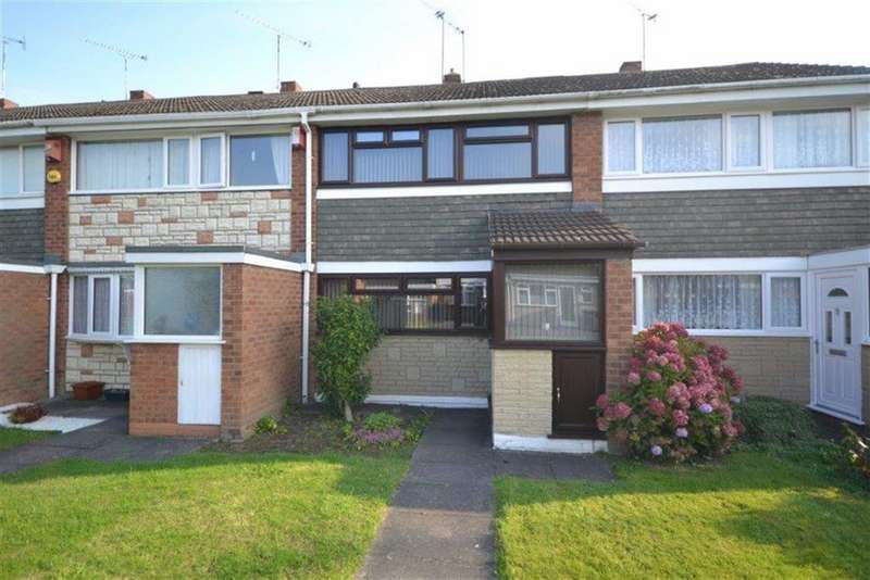 3 Bedrooms Terraced House for sale in Silver Walk, Glendale, Nuneaton
