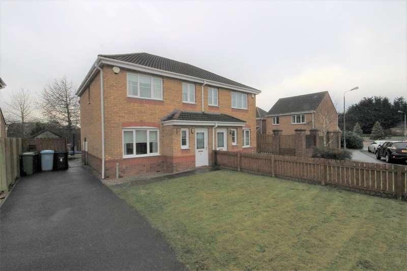 3 Bedrooms Semi Detached House for sale in Lochmaben Road, Gartcosh