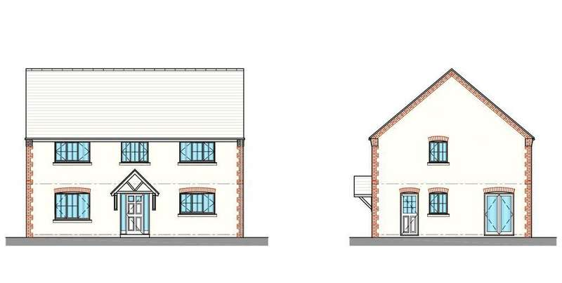4 Bedrooms Detached House for sale in Bell View, Cross Houses, Shrewsbury