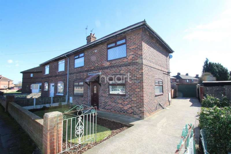 3 Bedrooms Semi Detached House for sale in Whitehouse road , Bircotes