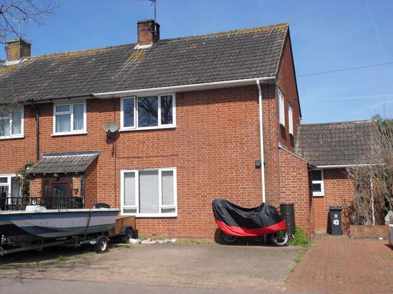 3 Bedrooms End Of Terrace House for sale in Moorfield Road, Exmouth