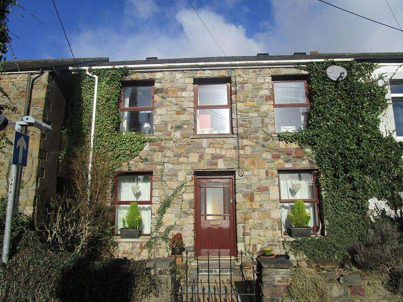 3 Bedrooms Semi Detached House for sale in Heol Maes Y Dre , Ystradgynlais, Swansea.