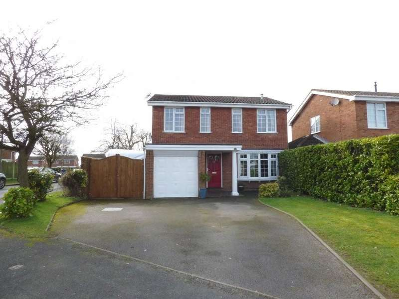 4 Bedrooms Detached House for sale in Creswell Farm Drive, Stafford