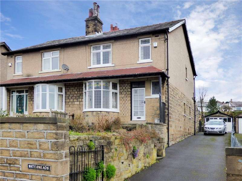 3 Bedrooms Semi Detached House for sale in Bradford Road, Riddlesden, Keighley, West Yorkshire