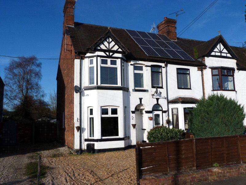 2 Bedrooms End Of Terrace House for sale in Crewe Road, Haslington, Crewe, Cheshire, CW1