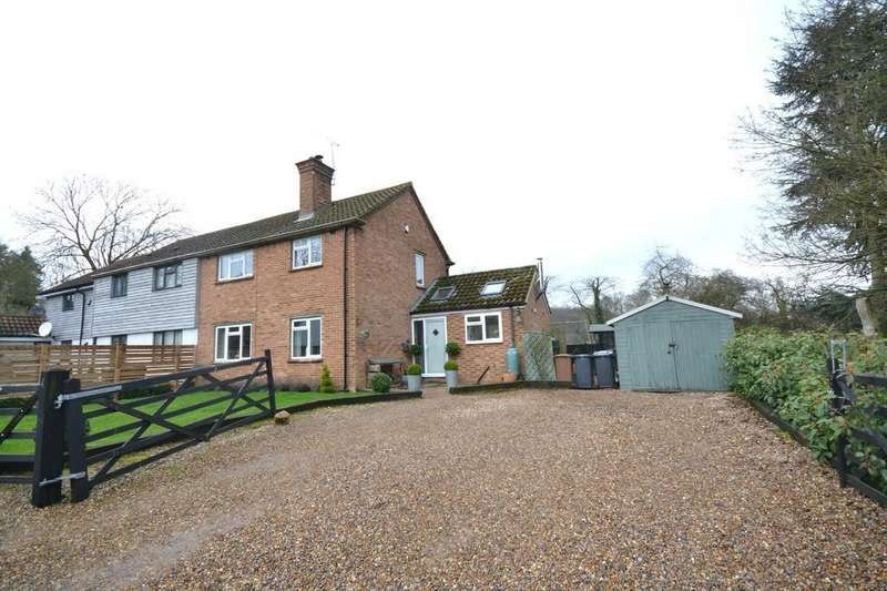 3 Bedrooms Semi Detached House for sale in 4 New House, The Street, Furneux Pelham, Buntingford, Herts, SG9 0LD