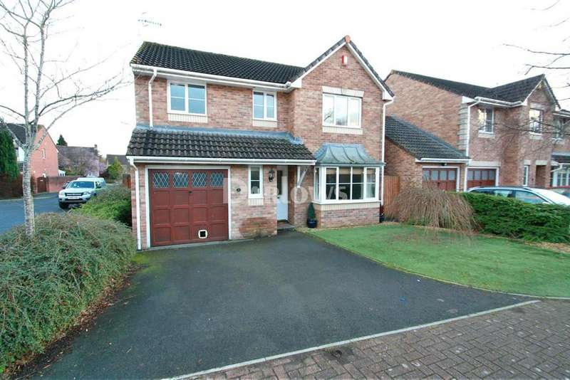 4 Bedrooms Detached House for sale in Cae Melin, Little Mill, Pontypool