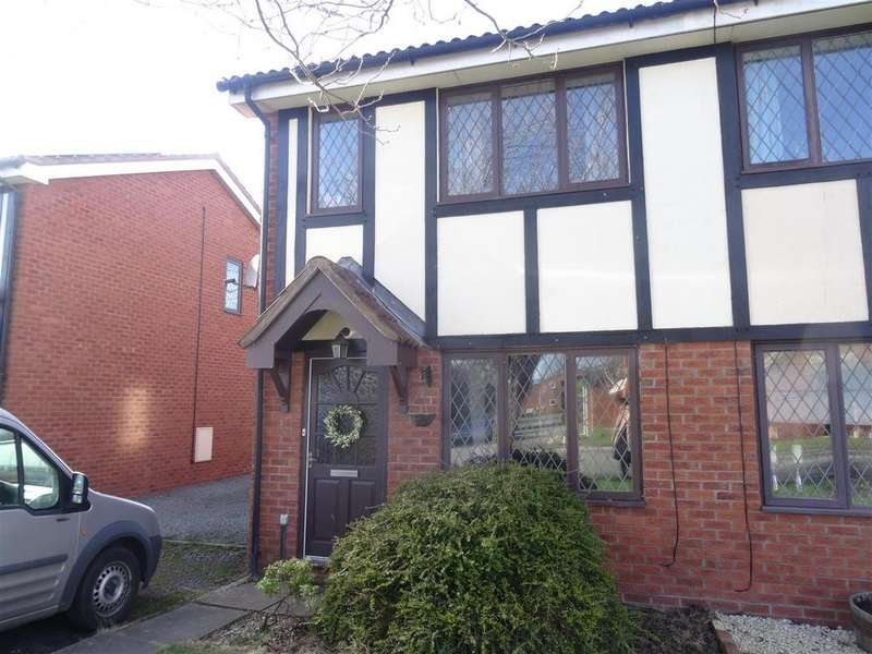 2 Bedrooms Semi Detached House for sale in Lingen Close, Shrewsbury