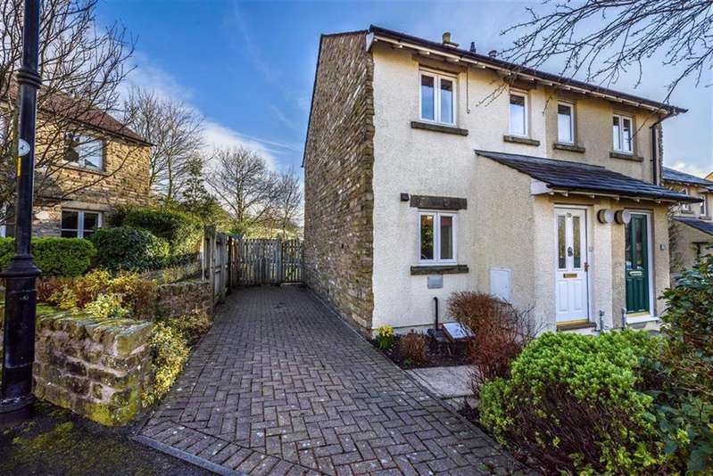2 Bedrooms Semi Detached House for sale in Woodside Ave, Sedbergh, Cumbria