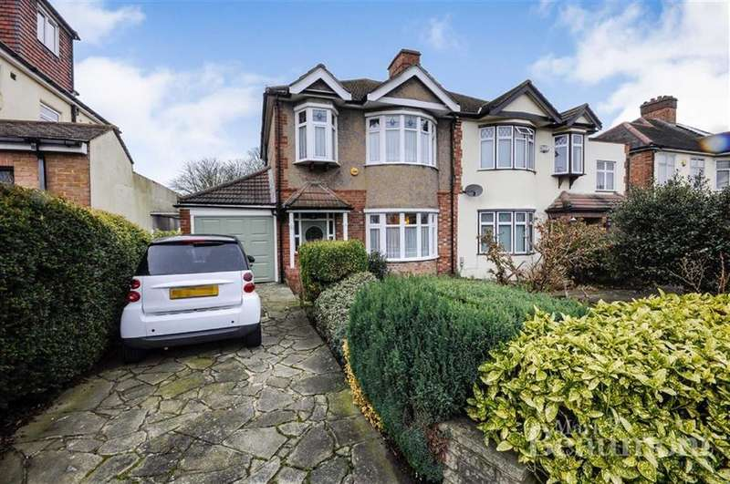3 Bedrooms Semi Detached House for sale in Broad Lawn, New Eltham, London