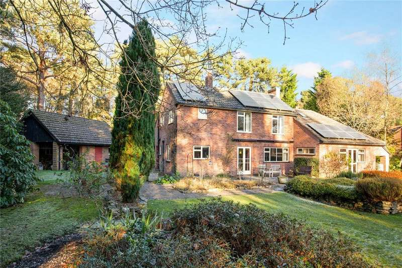 4 Bedrooms Detached House for sale in Adbury Holt, Newtown, Newbury, Berkshire, RG20