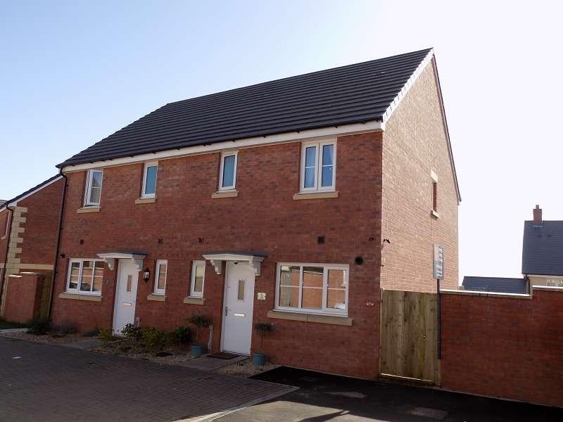 3 Bedrooms Semi Detached House for sale in Maes Meillion,Coity, Bridgend. CF35 6FJ