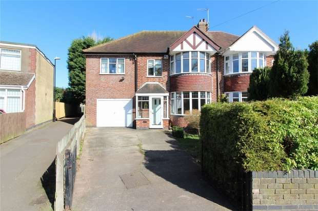 4 Bedrooms Semi Detached House for sale in Green Lane, Finham, Coventry