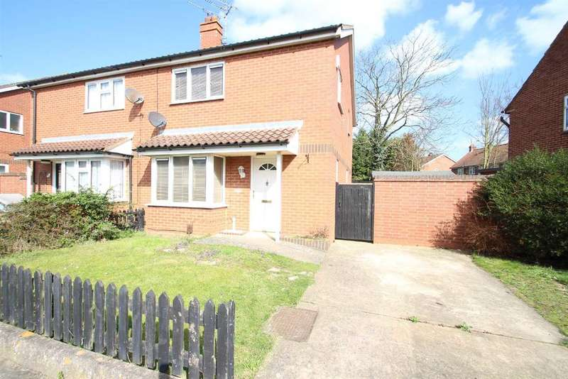 3 Bedrooms Semi Detached House for sale in Donegal Road, Ipswich