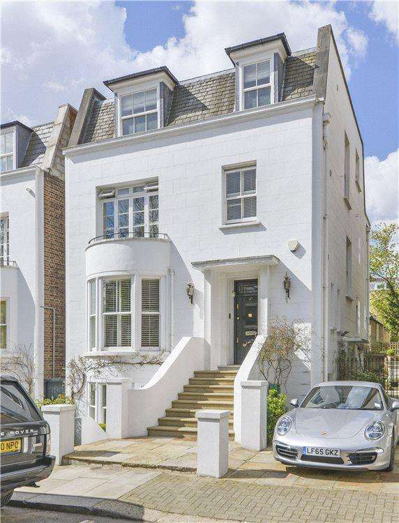 4 Bedrooms Parking Garage / Parking for sale in Hornton Street, Kensington, London, W8